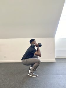 Exercise of the Week- Dumbbell Squat to Overhead Press